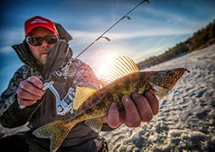 Ice Fishing Pole for Catching Walleye | Outdoor Newspaper
