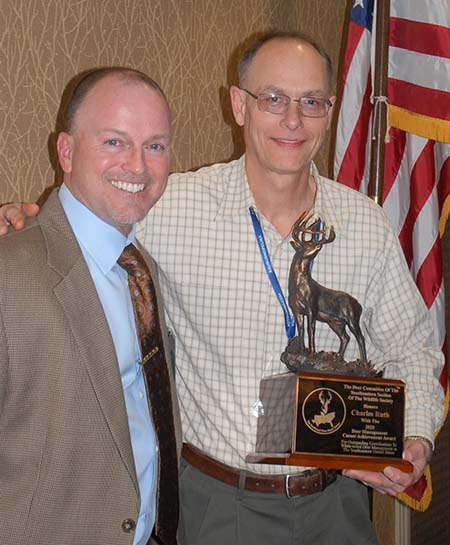 SCDNR Big Game Program Coordinator presented with prestigious award | Outdoor Newspaper