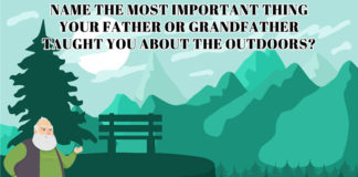 Outdoor Meme: Name one thing your father or grandfather taught you about the outdoors.