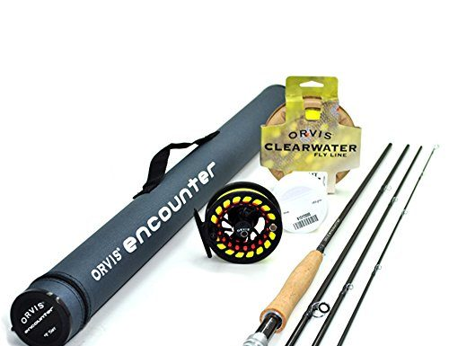 "Orvis Encounter 5-Weight 8'6"" Fly Rod Outfit (5wt, 8'6"", 4pc)"