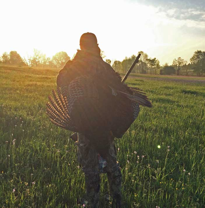 David Hawley A Successful Morning Turkey Hunting